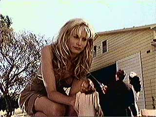 Daryl Hannah as the 50 Foot Woman