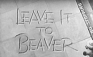 Leave It To Beaver 1957-1958 logo