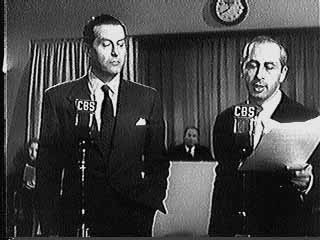 Ray Milland and Anton M. Leader in movie trailer for 1948 movie The Big Clock