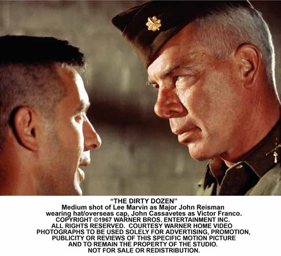 Dirty Dozen with John Cassavetes and Lee Marvin