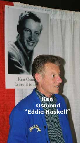 KEN OSMOND AT A COLLECTORS CONVENTION