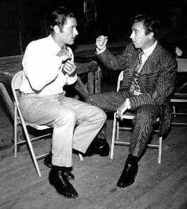 Errol Flynn and Tom D'Andrea
