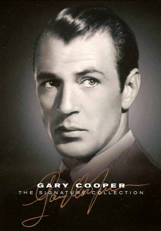 Gary Cooper The Signature Collection on DVD