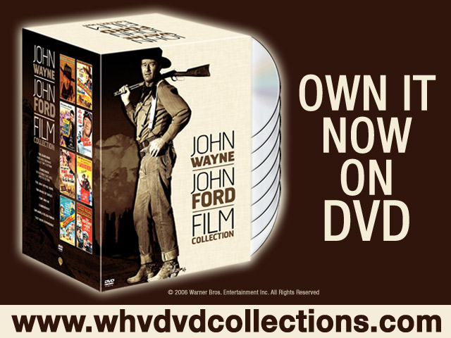 John Wayne - John Ford Film Collection on DVD