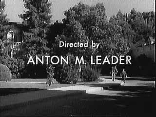 Anton M. Leader directs Leave It To Beaver episode