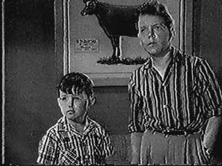 Jerry Mathers as Beaver,  Paul Sullivan as Wally Cleaver