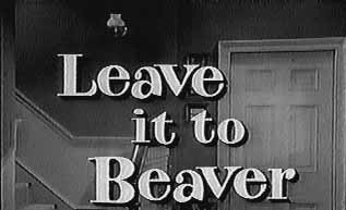 Leave It To Beaver 1958-1959 logo