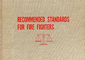 Recommended Standards For Fire Fighters