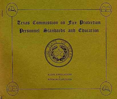 Texas Commission On Fire Protection Personnel Standards And Education